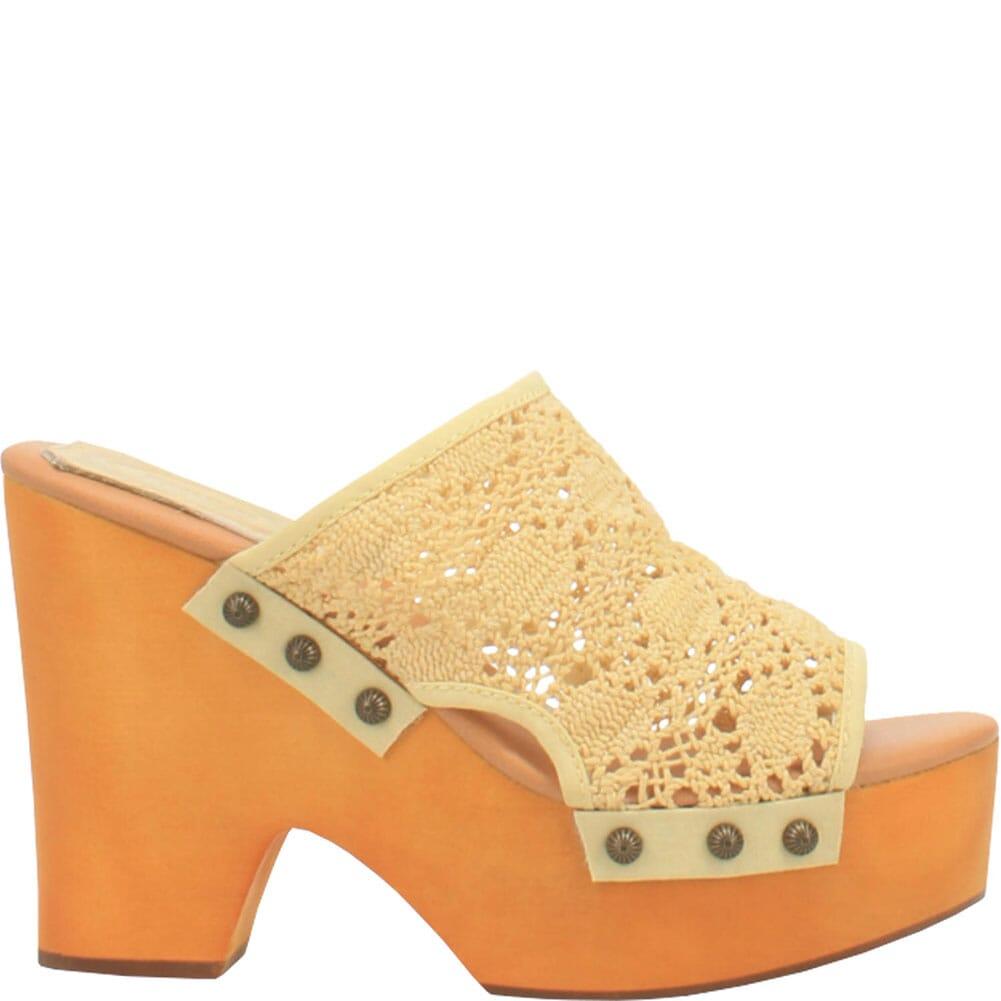 DI361-YE Dingo Women's Crafty Woven Sandals - Yellow