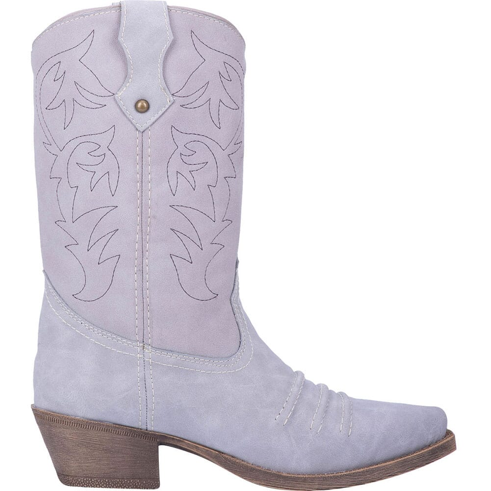 Dingo Women's Prairie Rose Western Boots - Grey