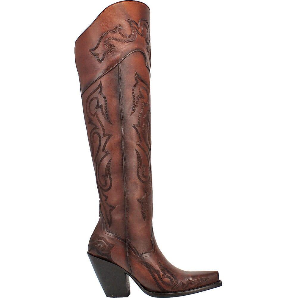 DP3285 Dan Post Women's Seductress Casual Boots - Chestnut