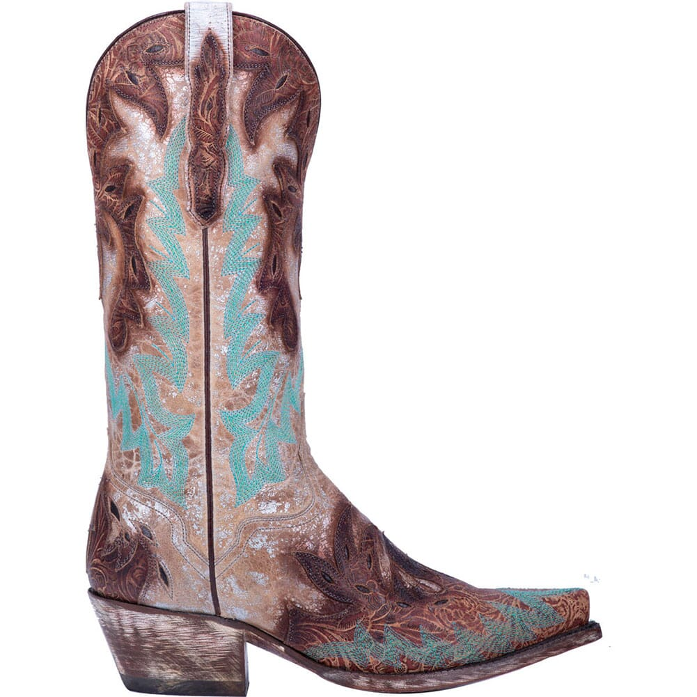 Dan Post Women's All Eyes On Me Western Boots - Brown/Silver