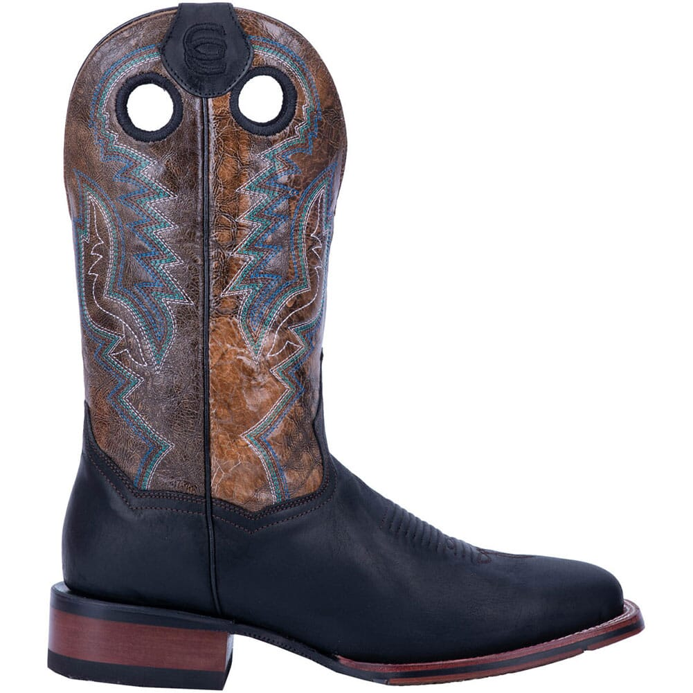 Dan Post Men's Deuce Western Boots - Black/Brown