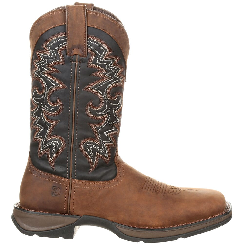 Durango Men's Pull-On Western Boots - Chocolate/Midnight