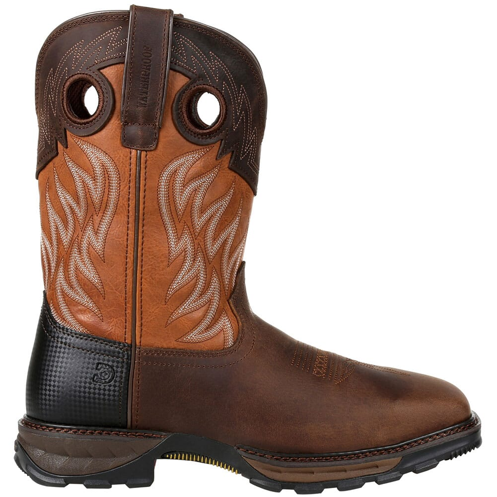 DDB0215 Durango Men's Maverick XP WP Safety Boots - Rugged Brown/Copper