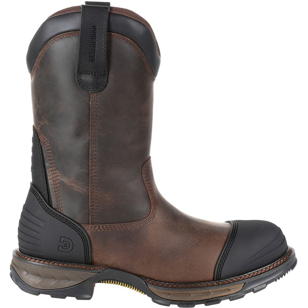 DDB0237 Durango Men's Maverick XP WP Safety Boots - Distressed Grizzly Brown