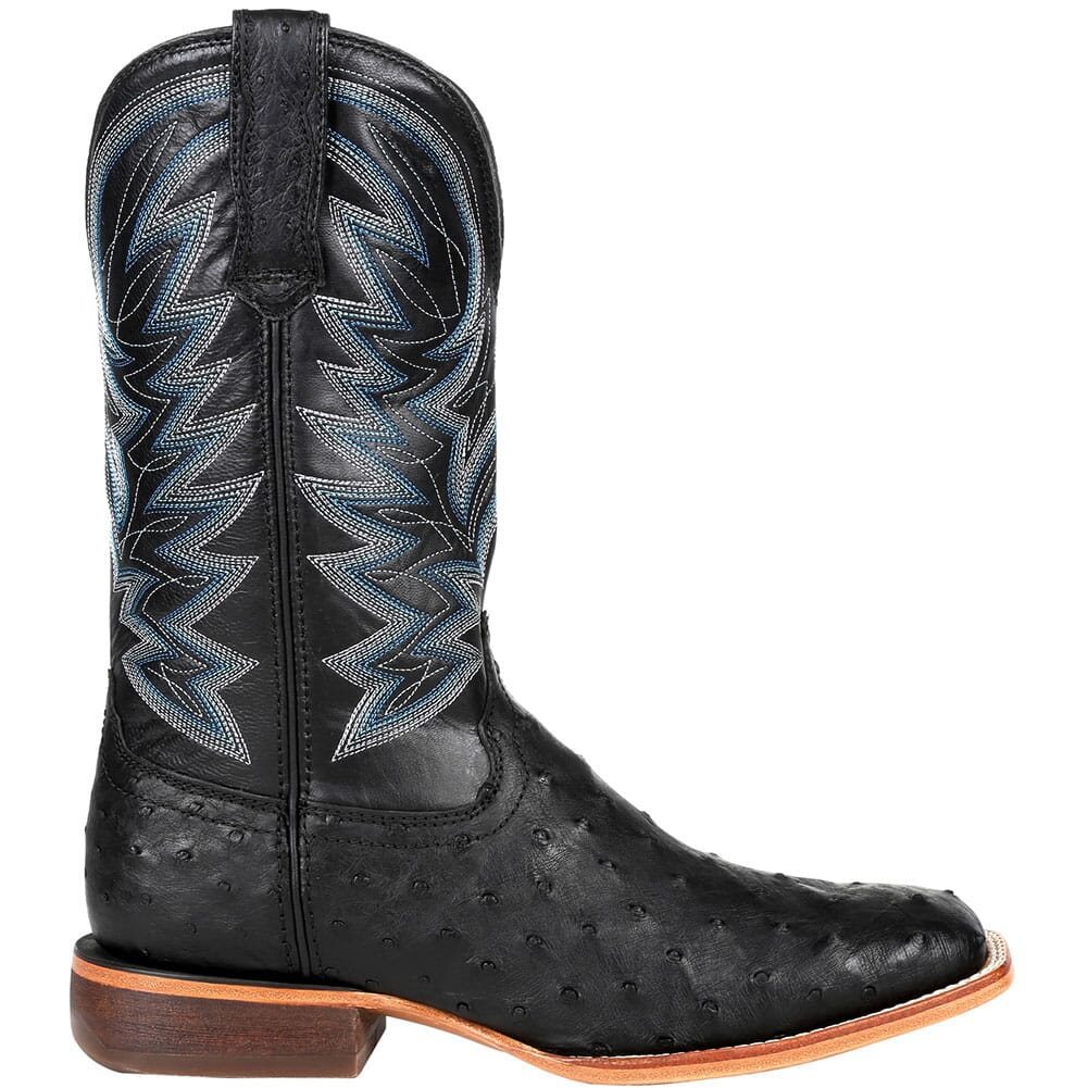DDB0273 Durango Men's Premium Exotic Western Boots - Black