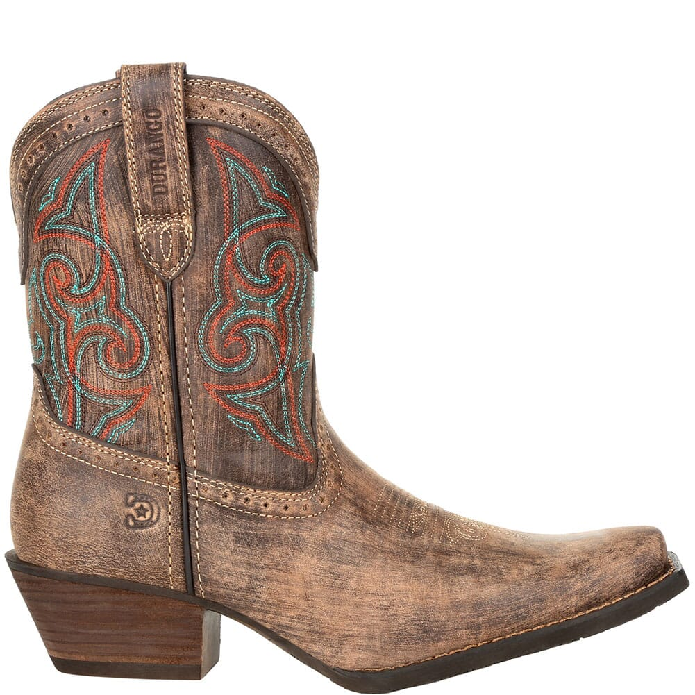 >DRD0358 Durango Women's Crush Shortie Western Boots - Driftwood Sunset