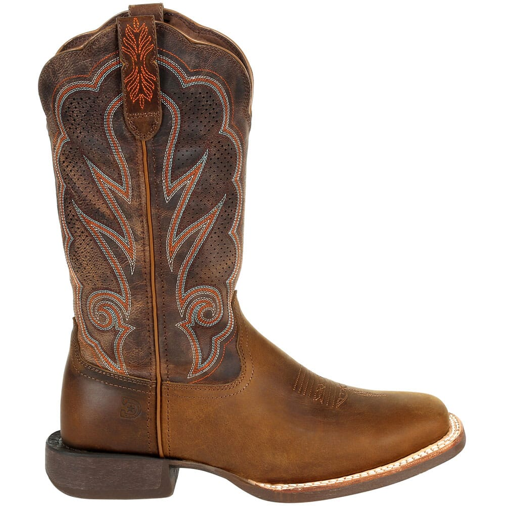 DRD0376 Durango Women's Lady Rebel Pro Ventilated Western Boots - Distressed Cog