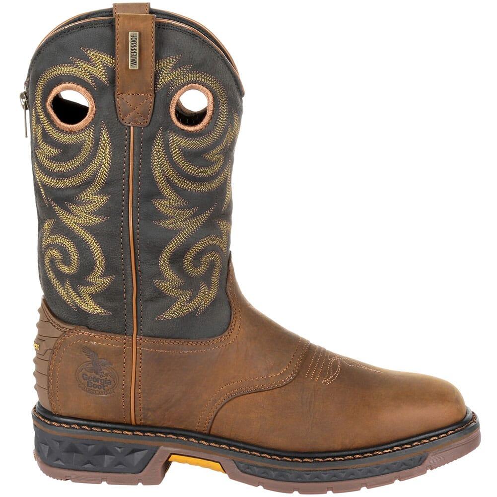 Georgia Men's Carbo-Tec LT WP Work Boots - Black/Brown