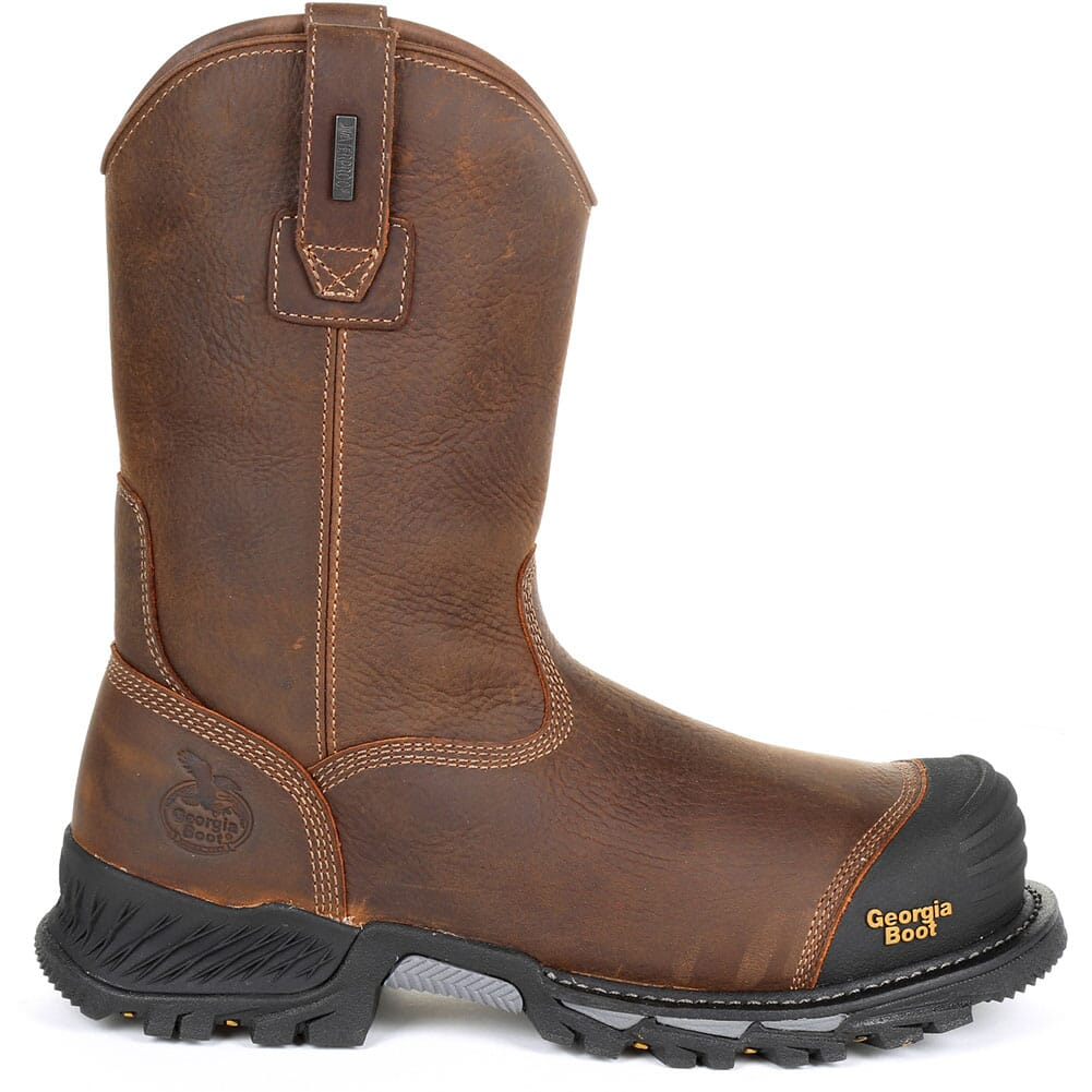 Georgia Men's Rumbler WP Safety Boots - Brown/Black