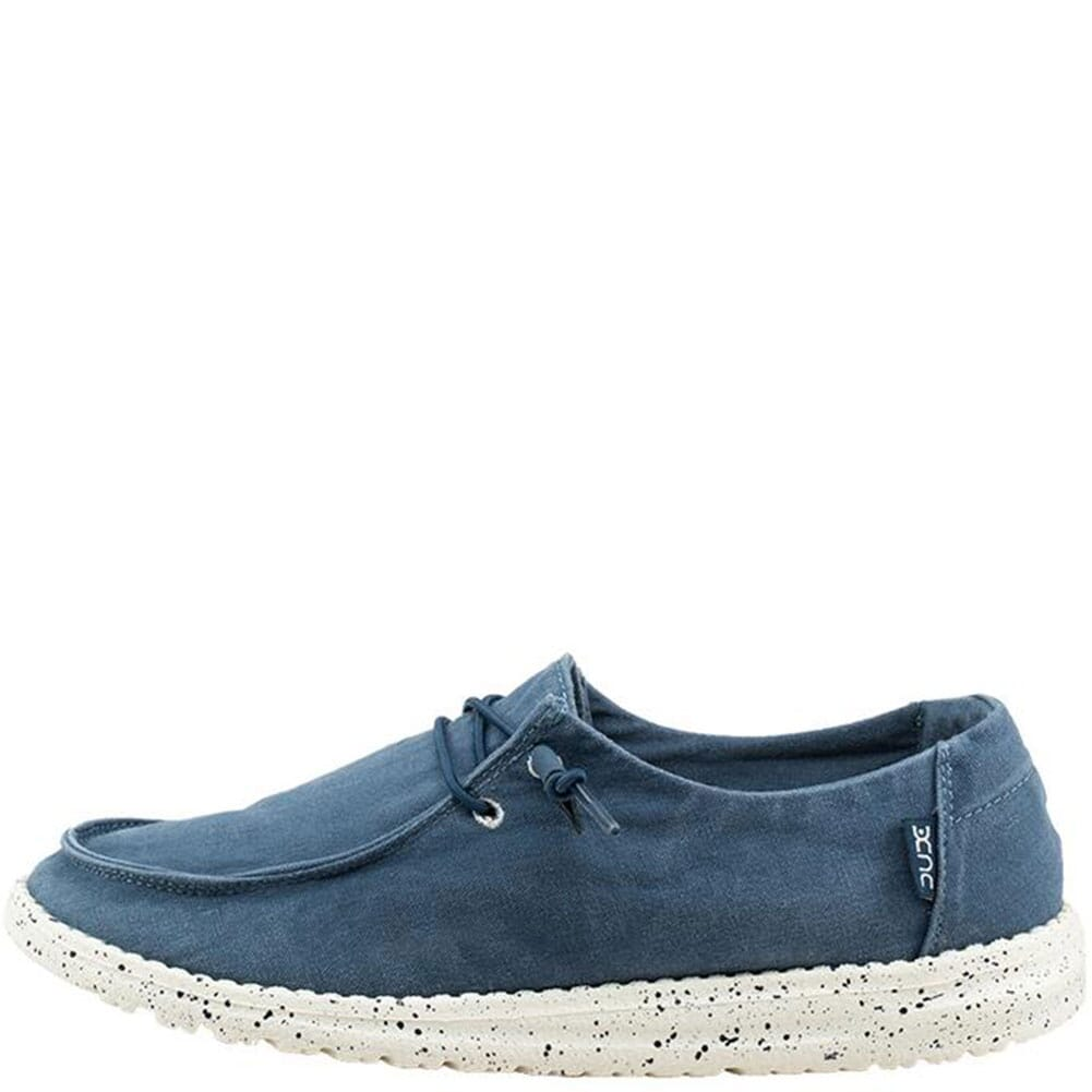 Hey Dude Women's Wendy Casual Shoes - Steel Blue
