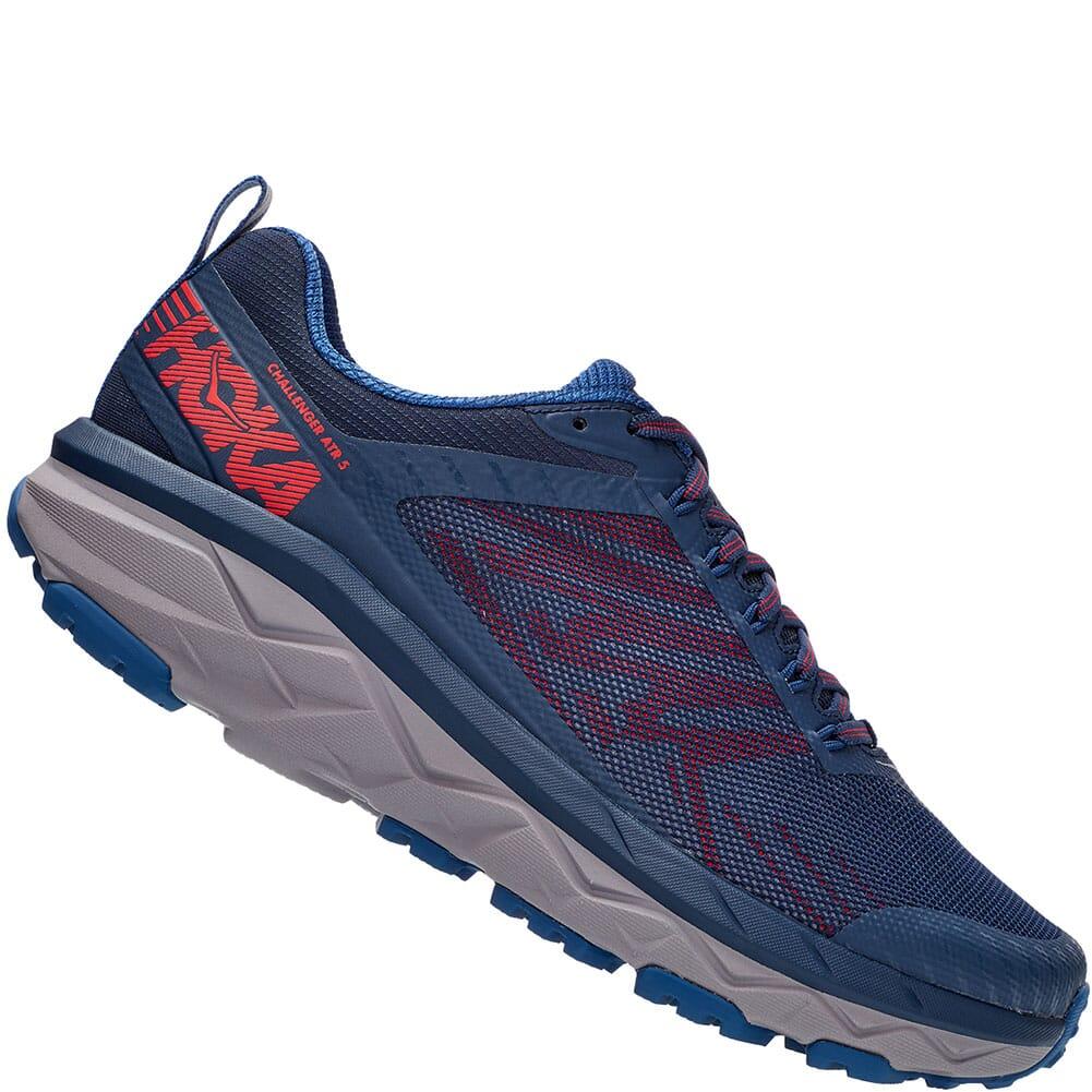 1104093-DBHRR Hoka One One Men's Challenger ATR 5 Running Shoes - Dark Blue/High