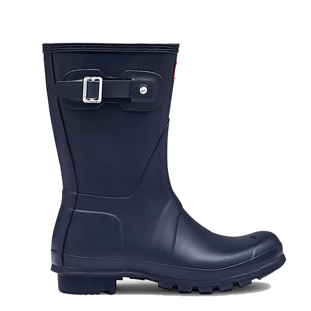 Hunter Women's Short Rain Boots - Navy