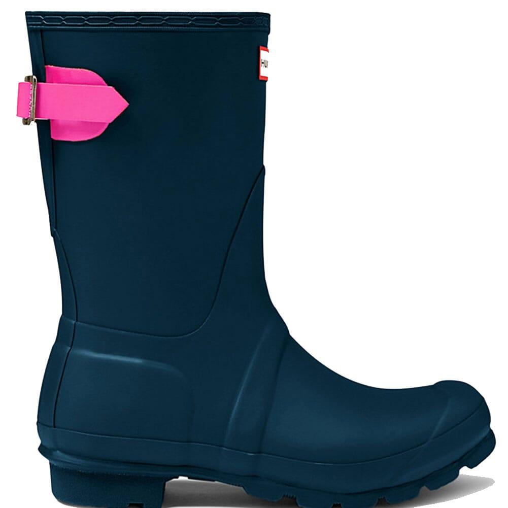 Hunter Women's Short Adjustable Rain Boots - Blue