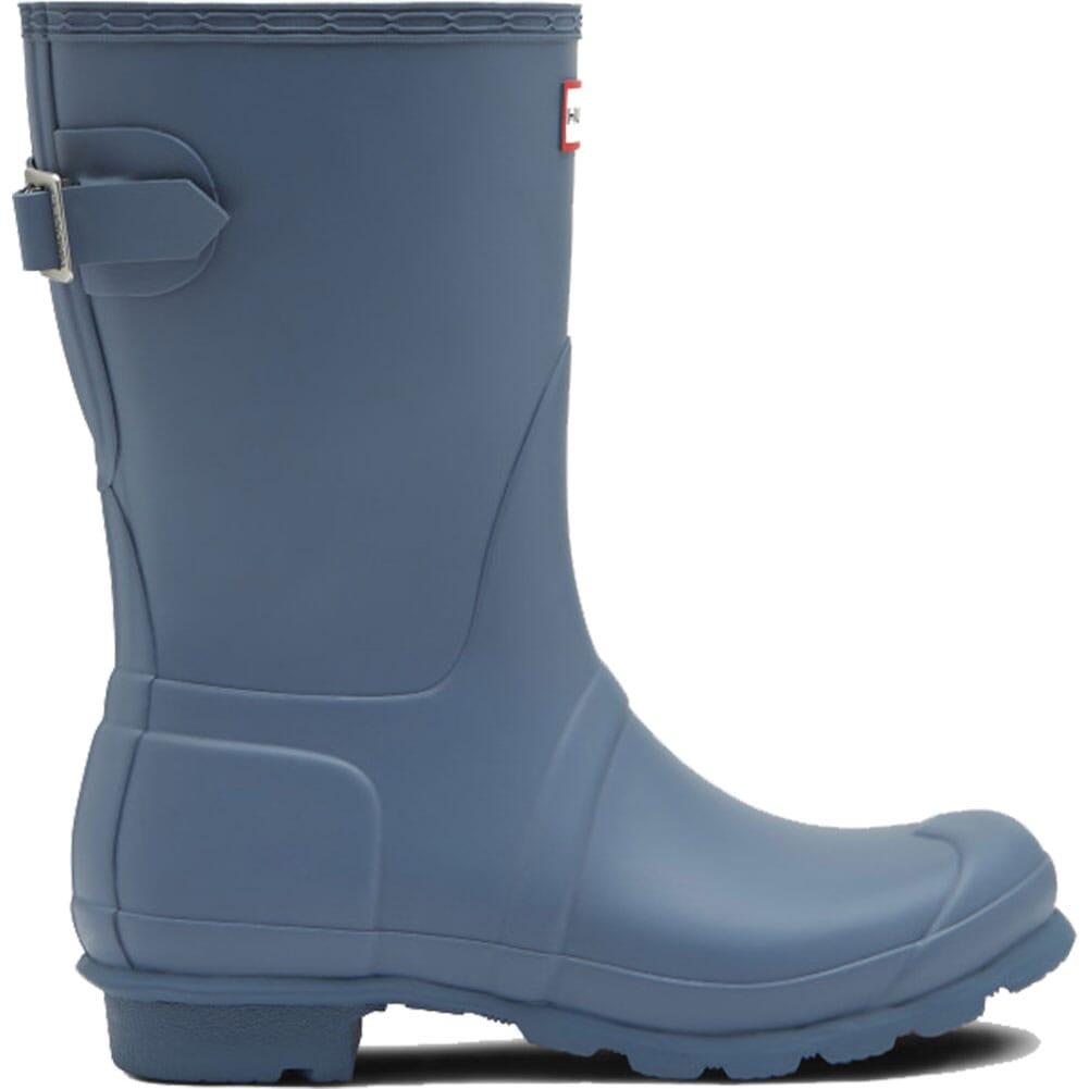 Hunter Women's Short Back Adjustable Rain Boots - Gull Gray