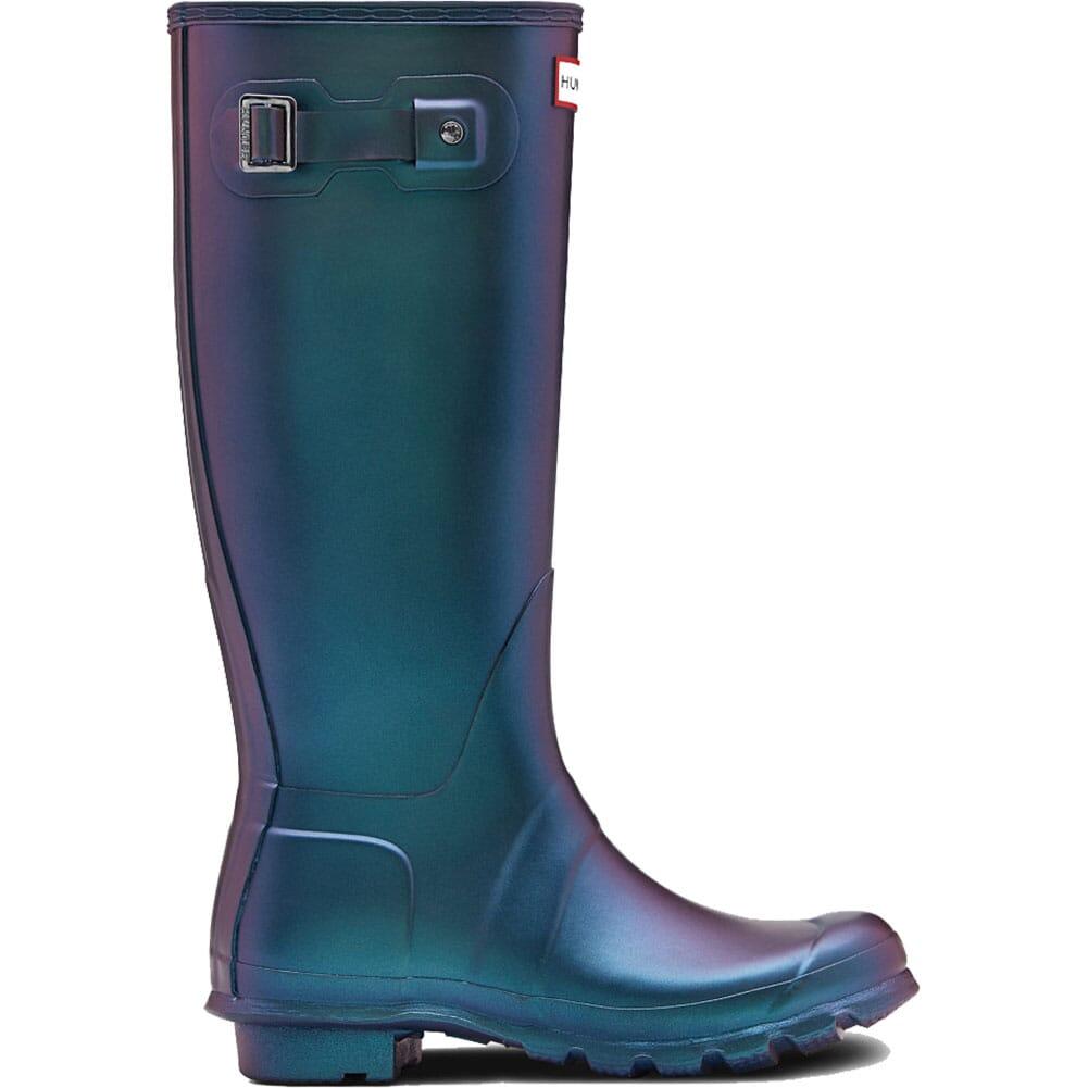 Hunter Women's Original Nebula Tall Rain Boots - Wave Blue