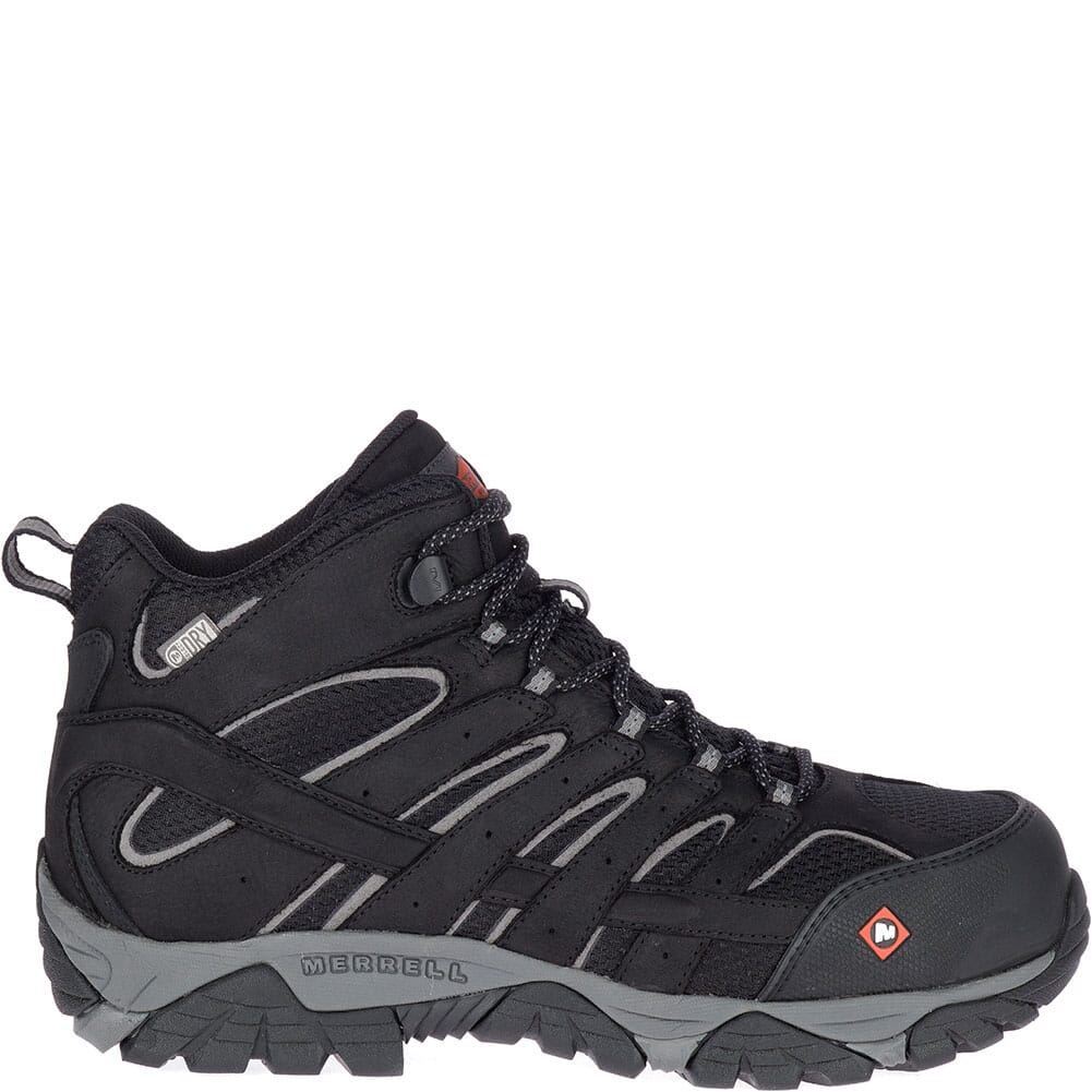 Merrell Men's Moab Vertex Vent Safety Boots - Black