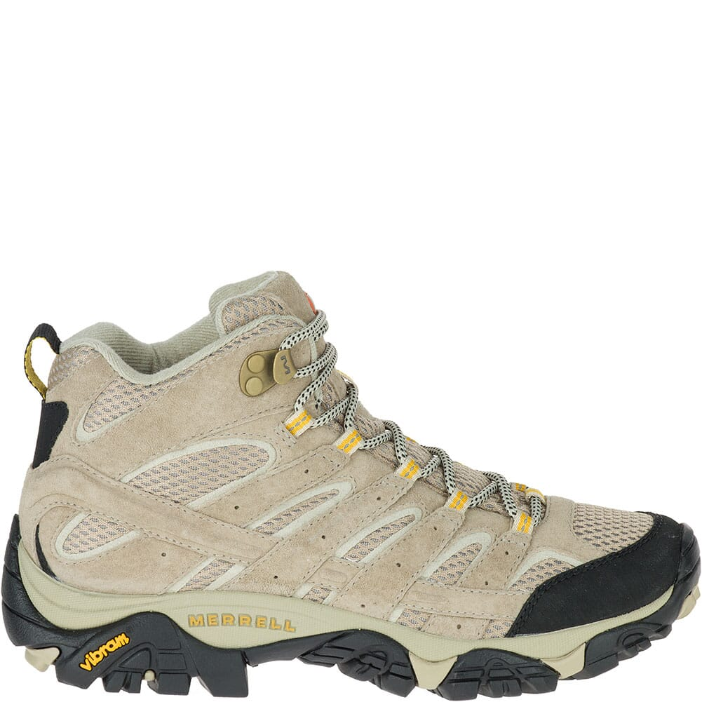 Merrell Women's Moab 2 Mid Ventilator Hiking Boots - Taupe