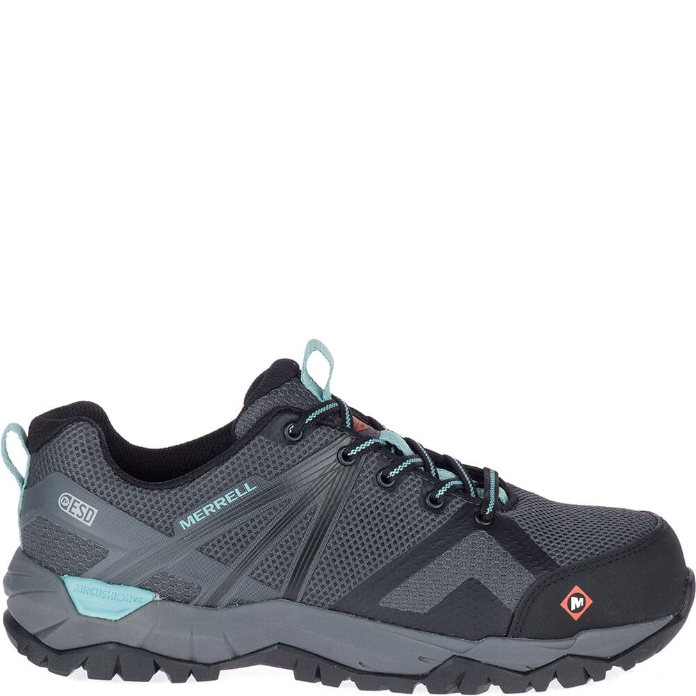 Merrell Women's Fullbench 2 SD Safety Shoes - Castle Rock