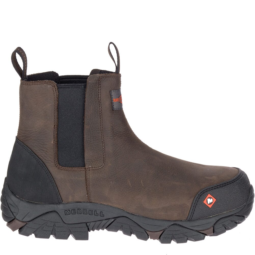 Merrell Men's Moab Rover Wide Safety Boots - Espresso
