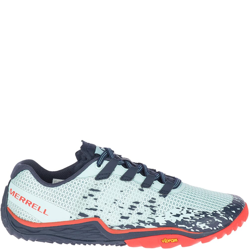 Merrell Women's Trail Glove 5 Athletic Shoes - Aqua