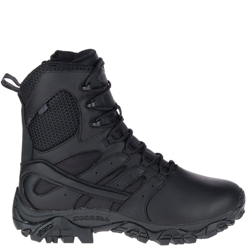 Merrell Women's Moab 2 Response WP Uniform Boots - Black