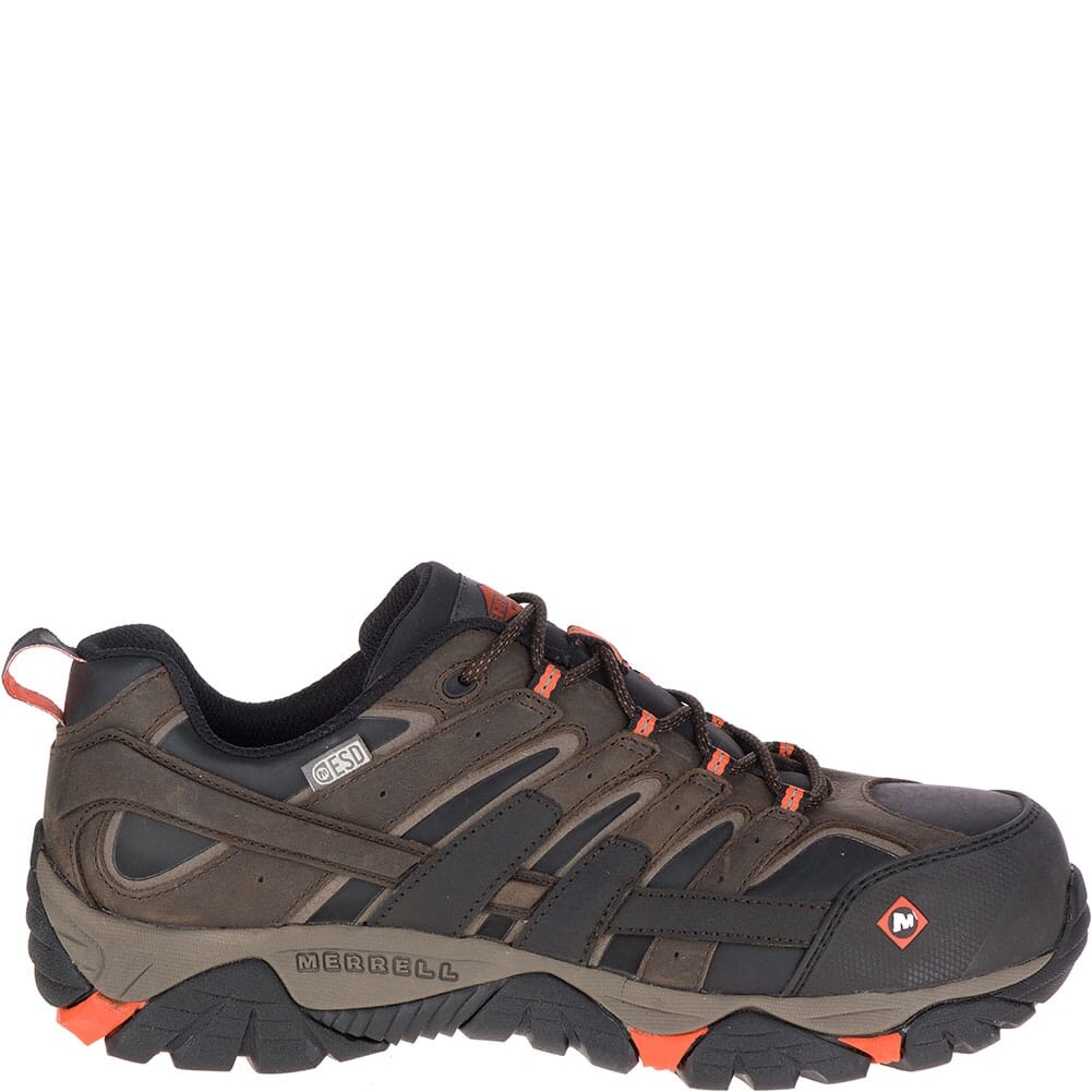 46651 Merrell Men's Moab 2 ESD Safety Shoes - Espresso