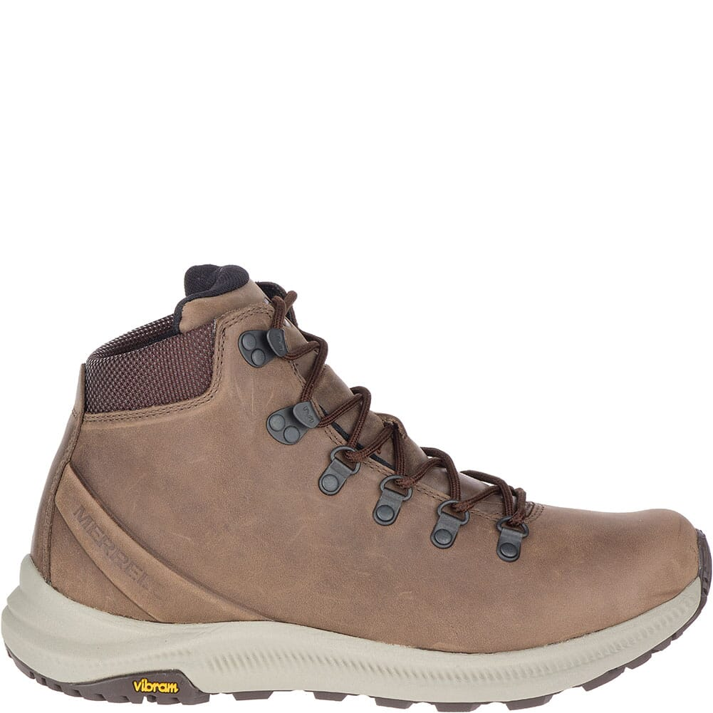 Merrell Men's Ontario Mid Hiking Boots - Dark Earth