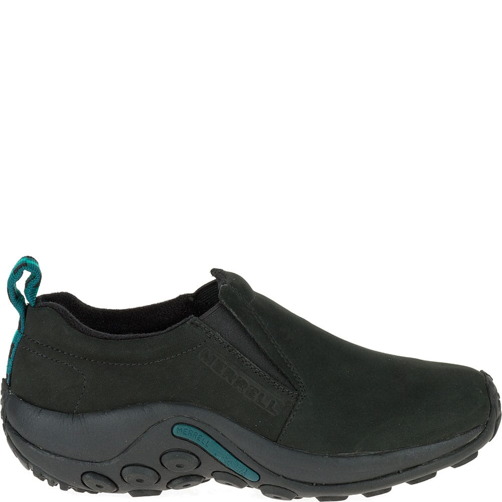 Merrell Women's Jungle Moc Nubuck Casual Shoes - Black