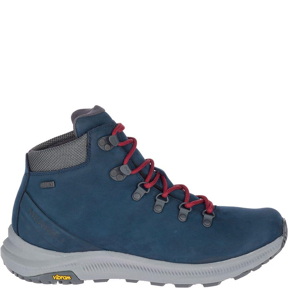 Merrell Men's Ontario Mid WP Hiking Boots - Sailor