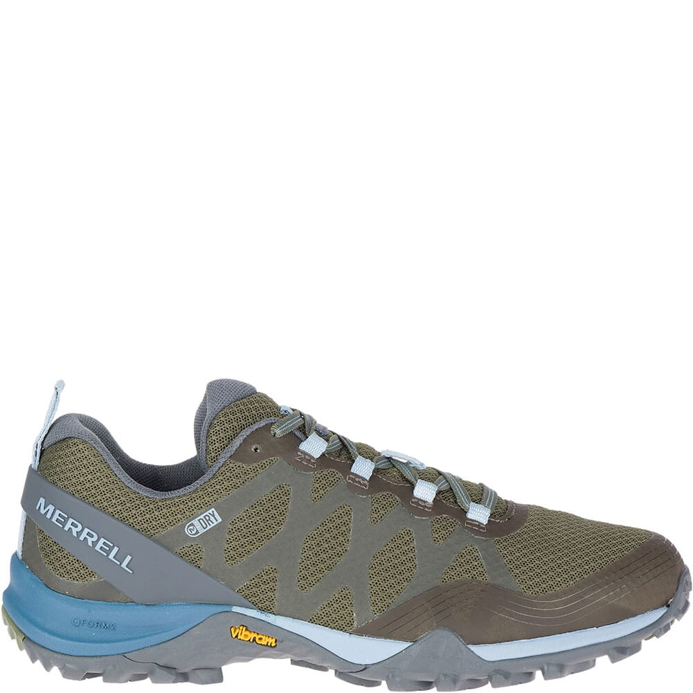 Merrell Women's Siren 3 WP Hiking Shoes - Lichen