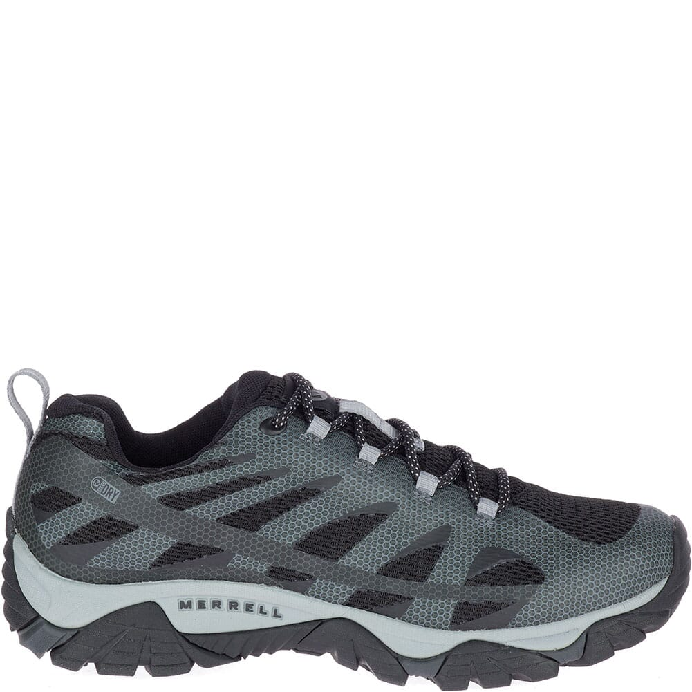 Merrell Men's Moab Edge 2 WP Hiking Shoes - Black
