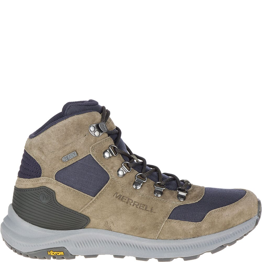 Merrell Men's Ontario 85 Mid WP Hiking Boots - Olive