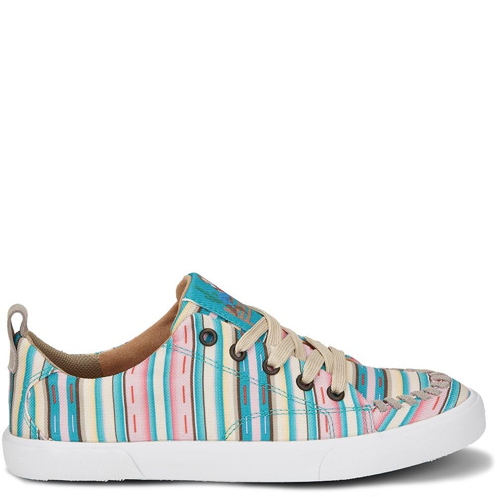 RML067 Justin Women's Arreba Casual Sneakers - Pink Stripe