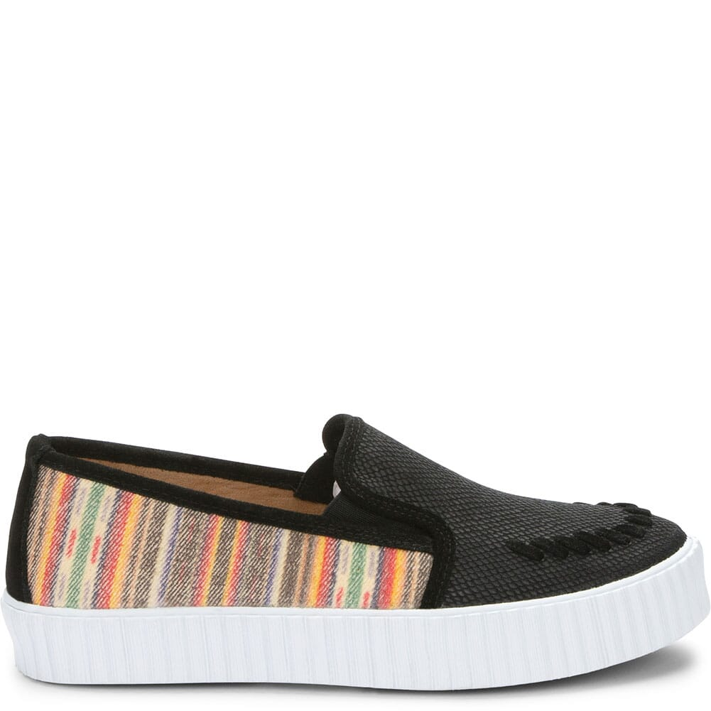 RML080 Justin Women's Helen Serape Casual Sneakers - Black