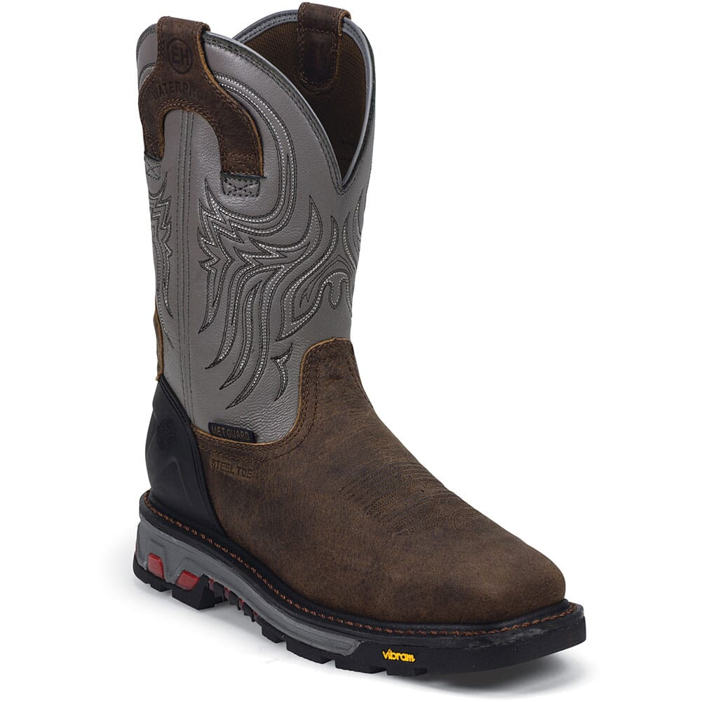 Justin Men's Commander-X5 Met Safety Boots - Timber