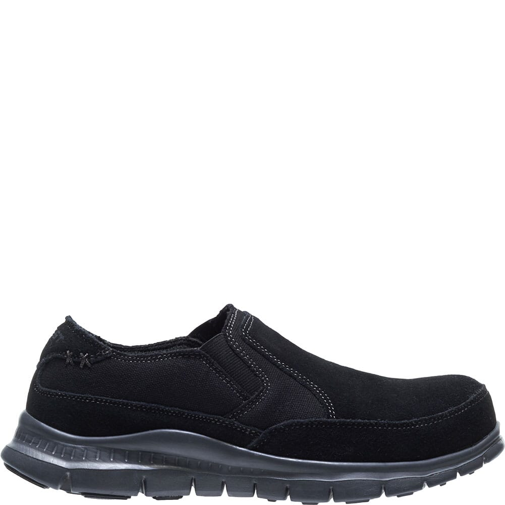 Hytest Men's Blake Slip On Safety Shoes - Black