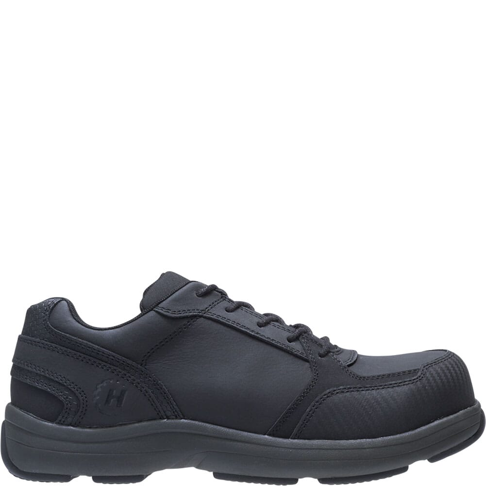 Hytest Men's Anaheim Safety Shoes - Black