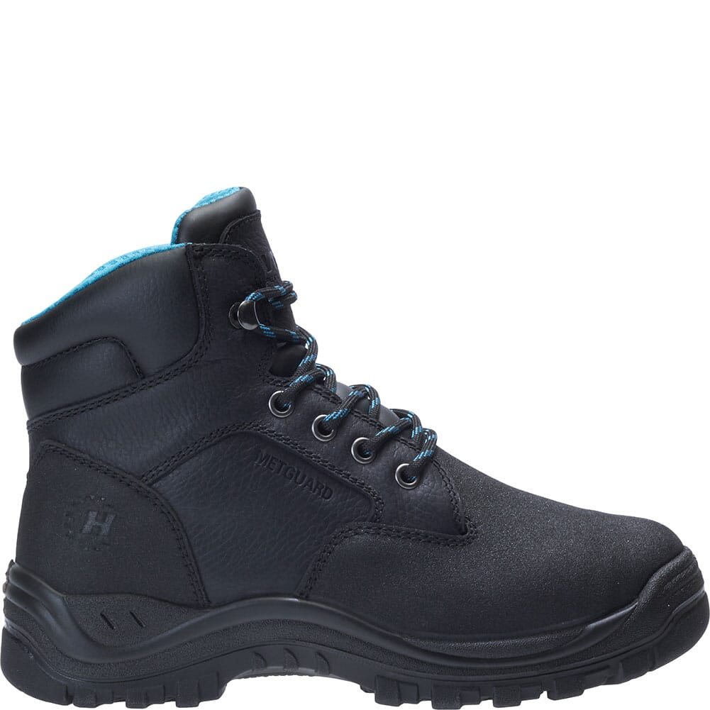 Hytest Women's Amber Metatarsal Guard Safety Boots - Black