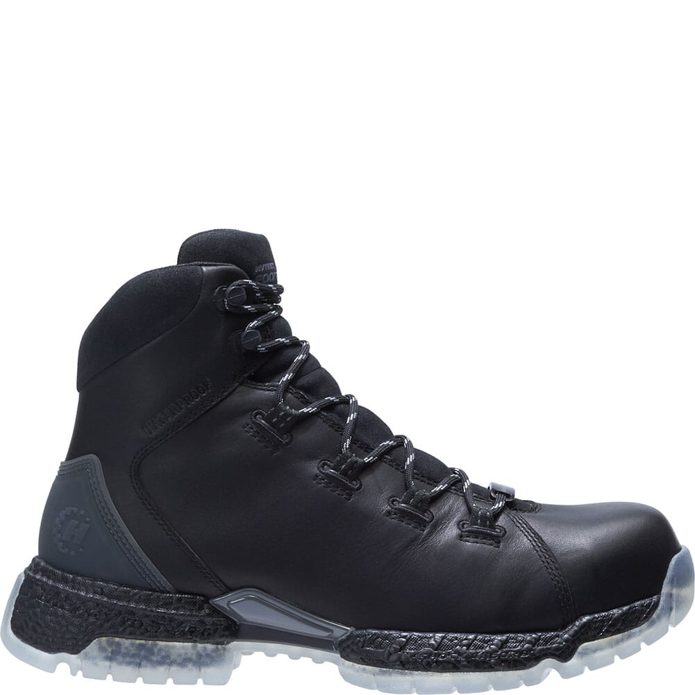 Footrests by Hytest Men's 2.0 Xergy WP Safety Boots - Black