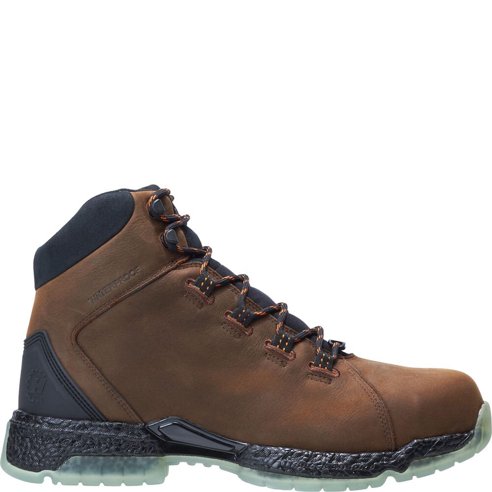 Footrests by Hytest Men's 2.0 Xergy WP Safety Boots - Brown