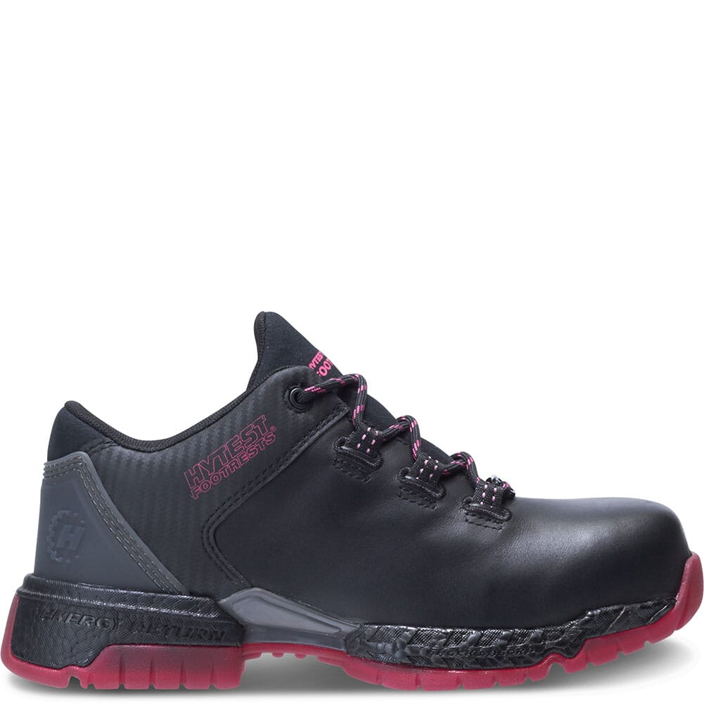 Hytest Women's Footrests 2.0 Pivot Safety Shoes - Black/Berry