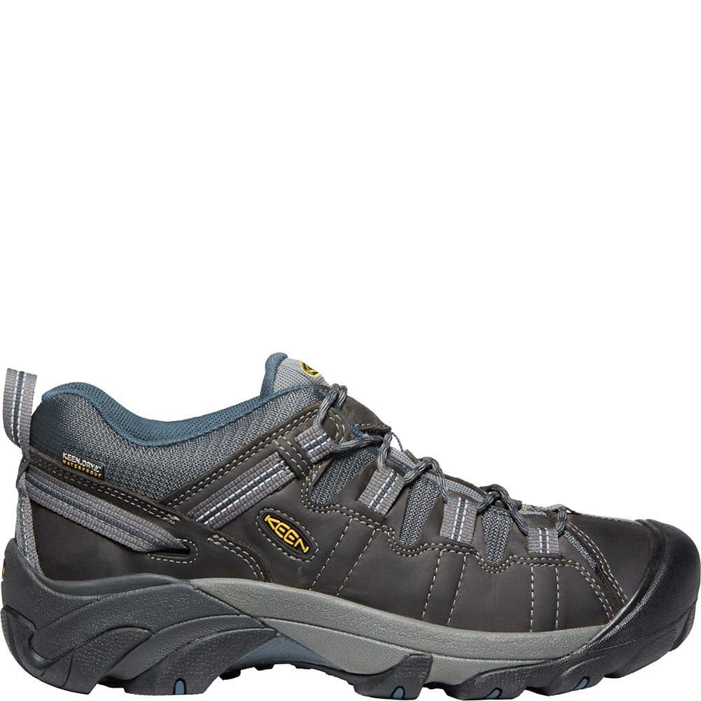 KEEN Men's Targhee II WP Hiking Shoes - Gargoyle