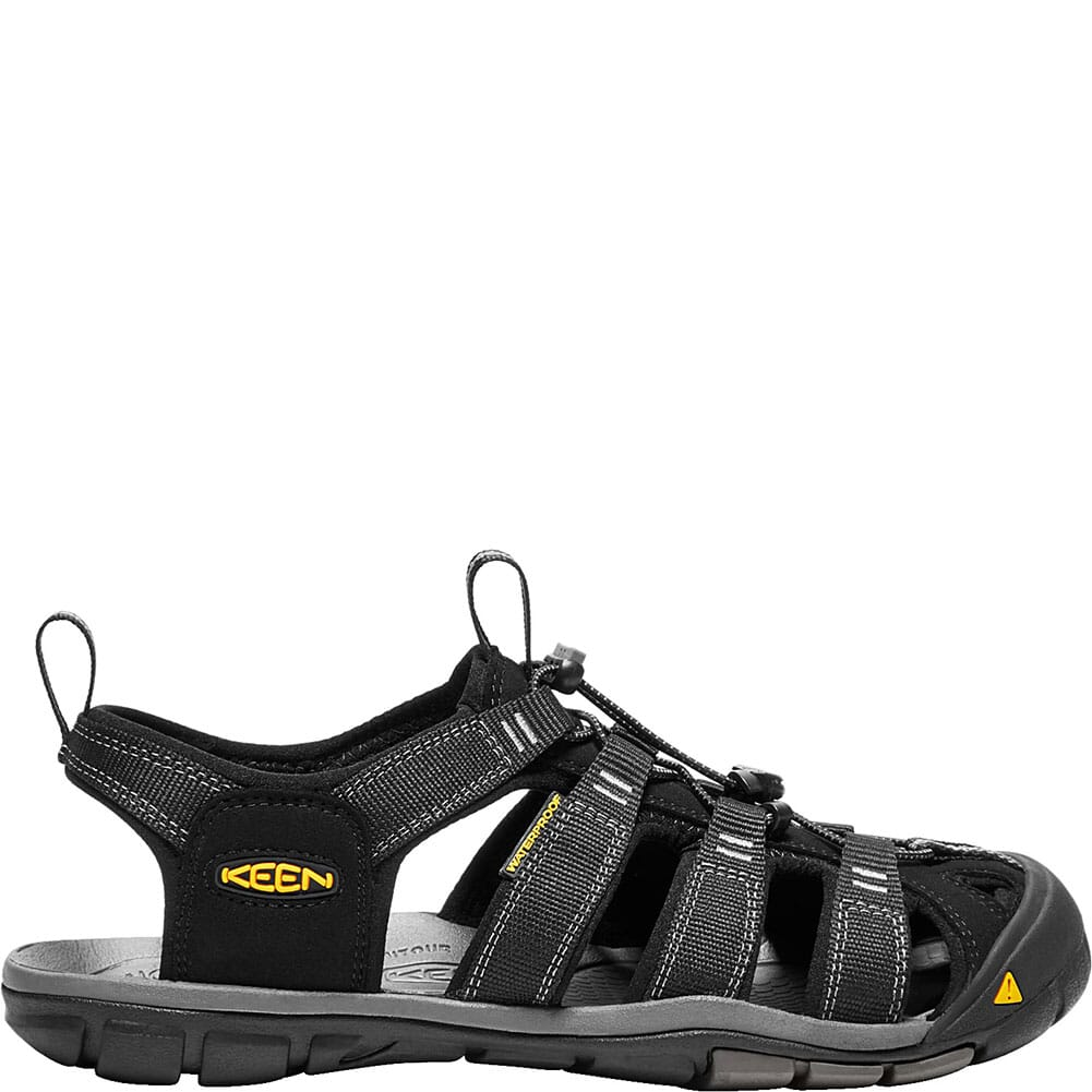 KEEN Men's Clearwater CNX Sandals - Black/Gargoyle