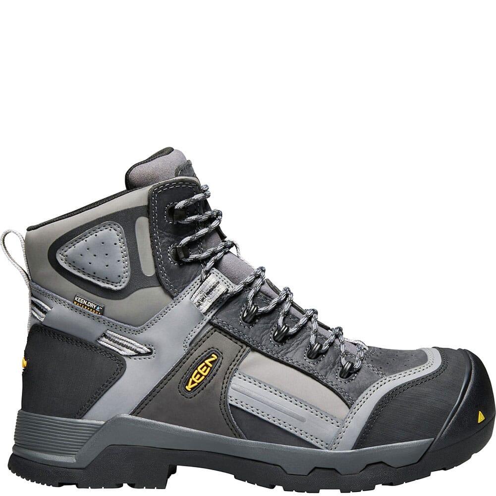 KEEN Utility Men's Davenport Safety Boots - Magnet/Steel Grey