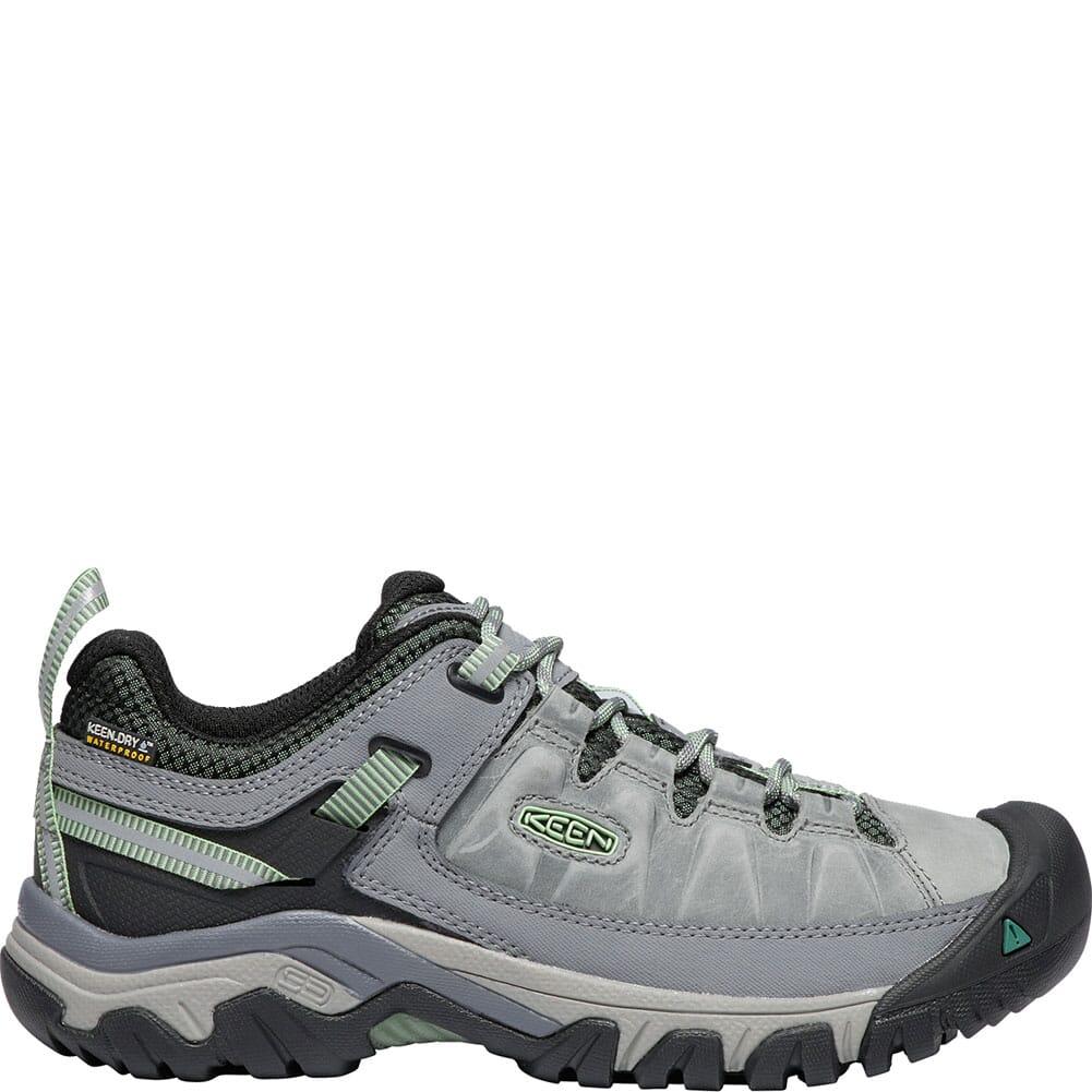 Keen Women's Targhee III WP Hiking Shoes - Bleacher/Duck Green