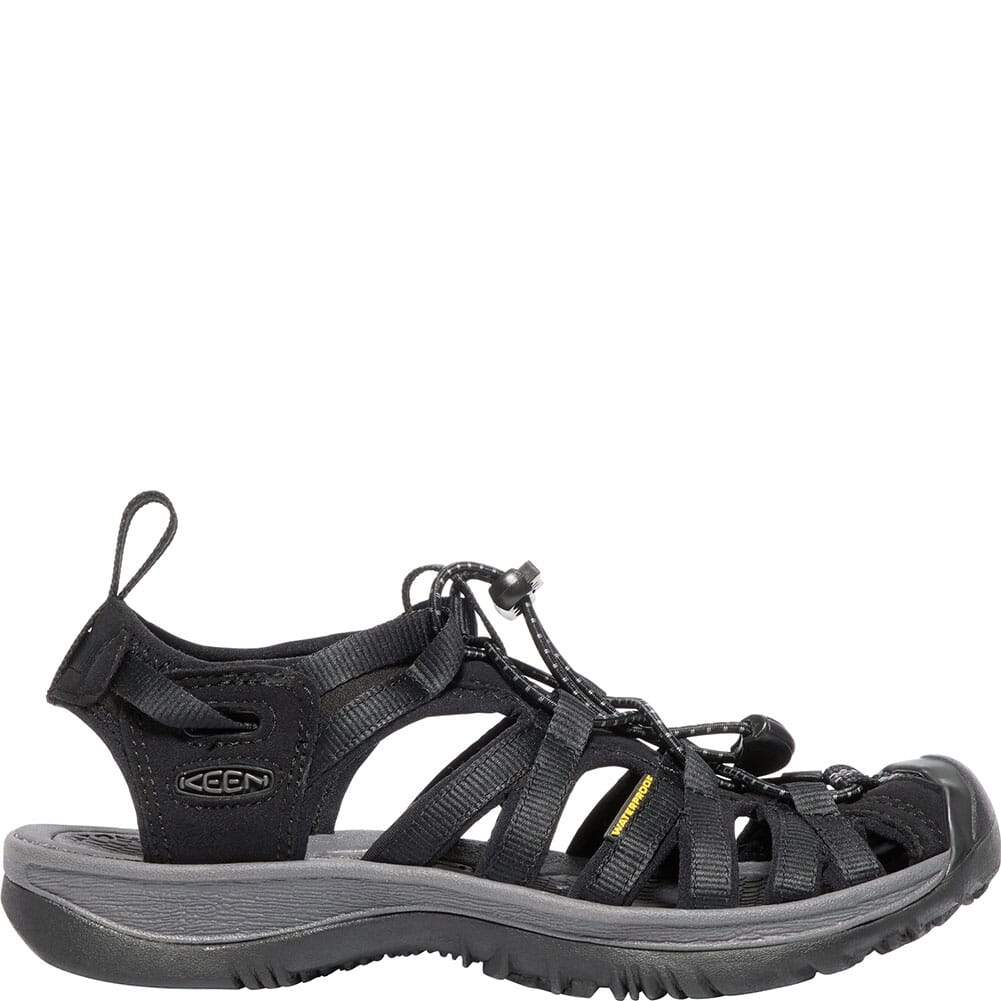 KEEN Women's Whisper Sandals - Black/Magnet