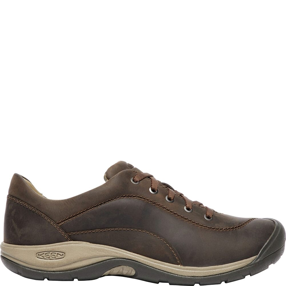 KEEN Women's Presidio II Casual Shoes - Dark Earth