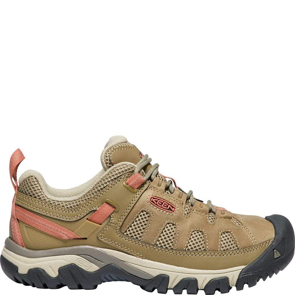 KEEN Women's Targhee Vent Hiking Shoes - Sandy/Cornstalk