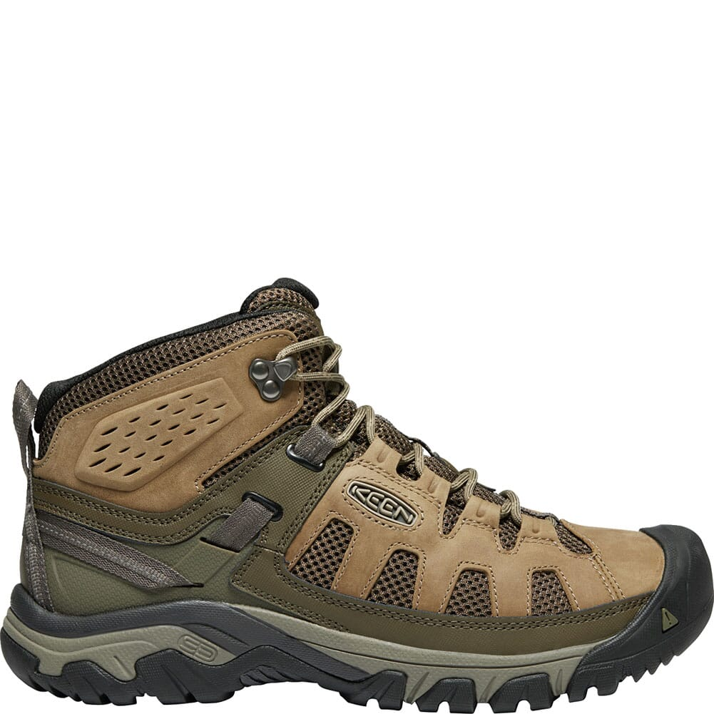 KEEN Men's Targhee Vent Mid Hiking Boots - Olivia/Bungee Cord
