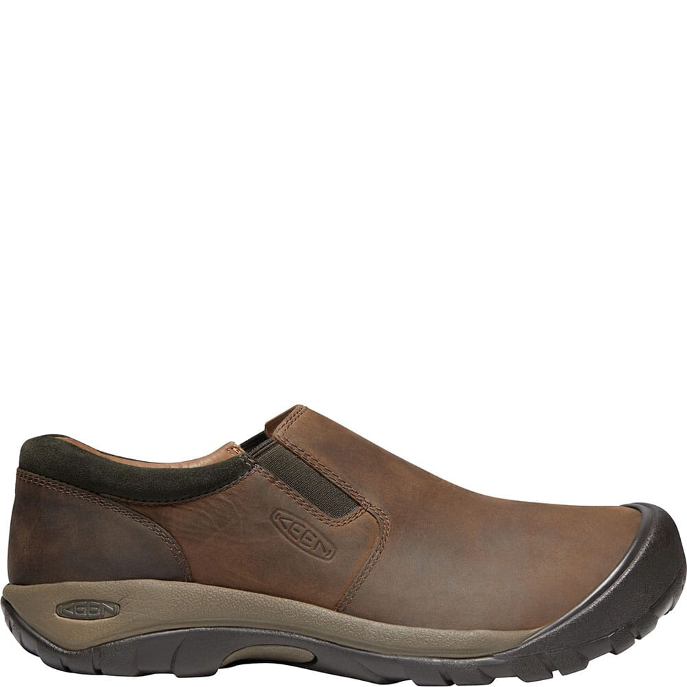 KEEN Men's Austin Casual Slip-On - Chocolate Brown